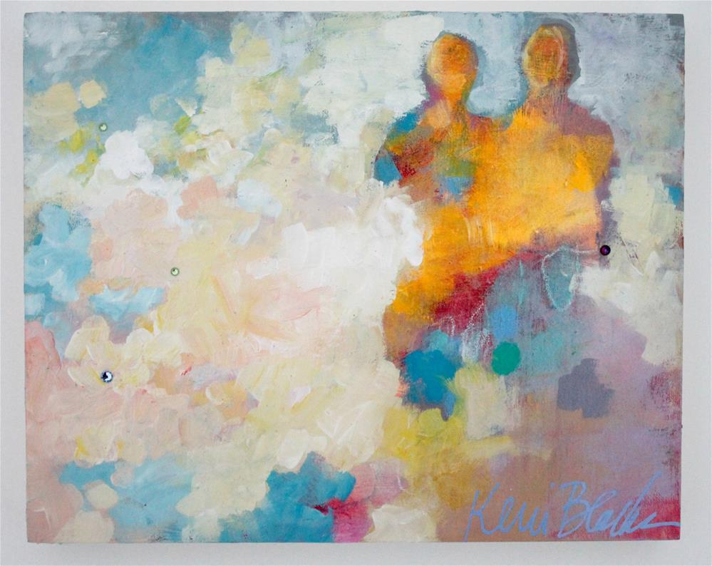 """Sun Angels"" original fine art by Kerri Blackman"