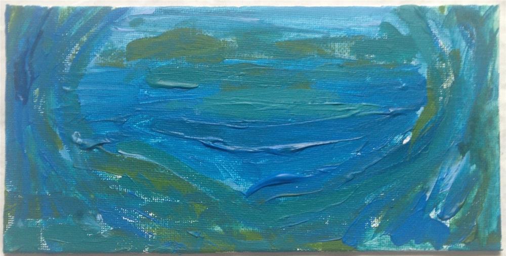 """""""The Fog rolls in"""" original fine art by Ellis Charles Hoffmeister"""