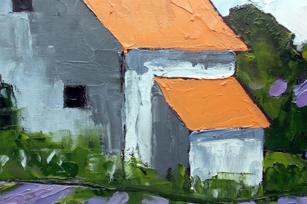"""Provence Lavender Farm"" original fine art by lynne french"