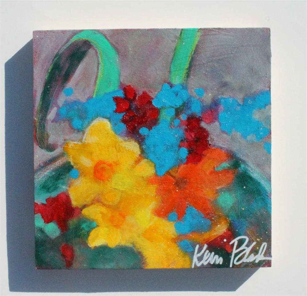 """Garden Offerings"" original fine art by Kerri Blackman"