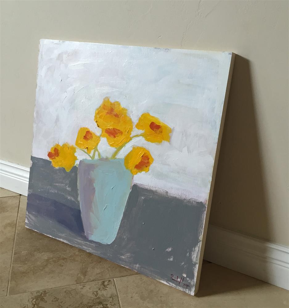 """bright yellow"" original fine art by Pamela Munger"
