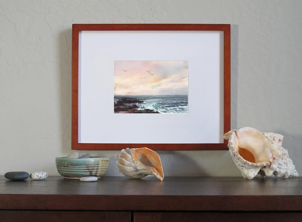 """Morning Song"" original fine art by Linda Henry"