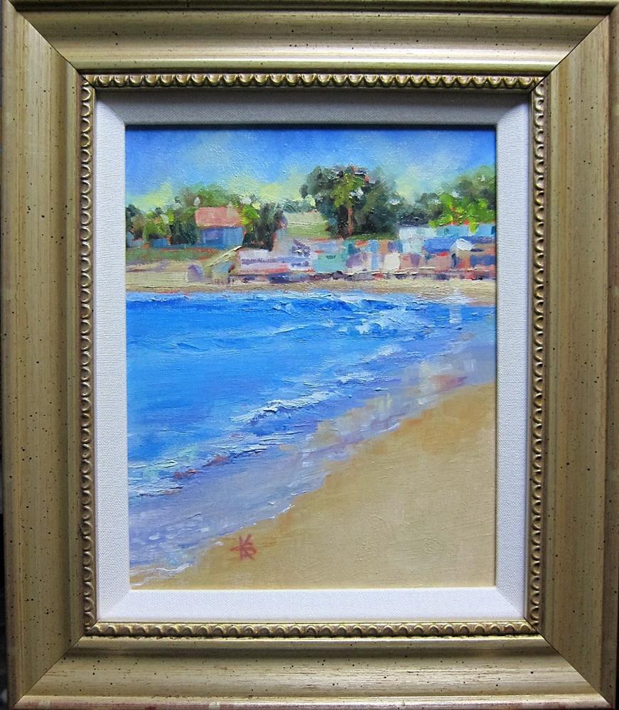 """""""Santa Barbara Stroll #2"""" original fine art by Kathy Bodamer"""
