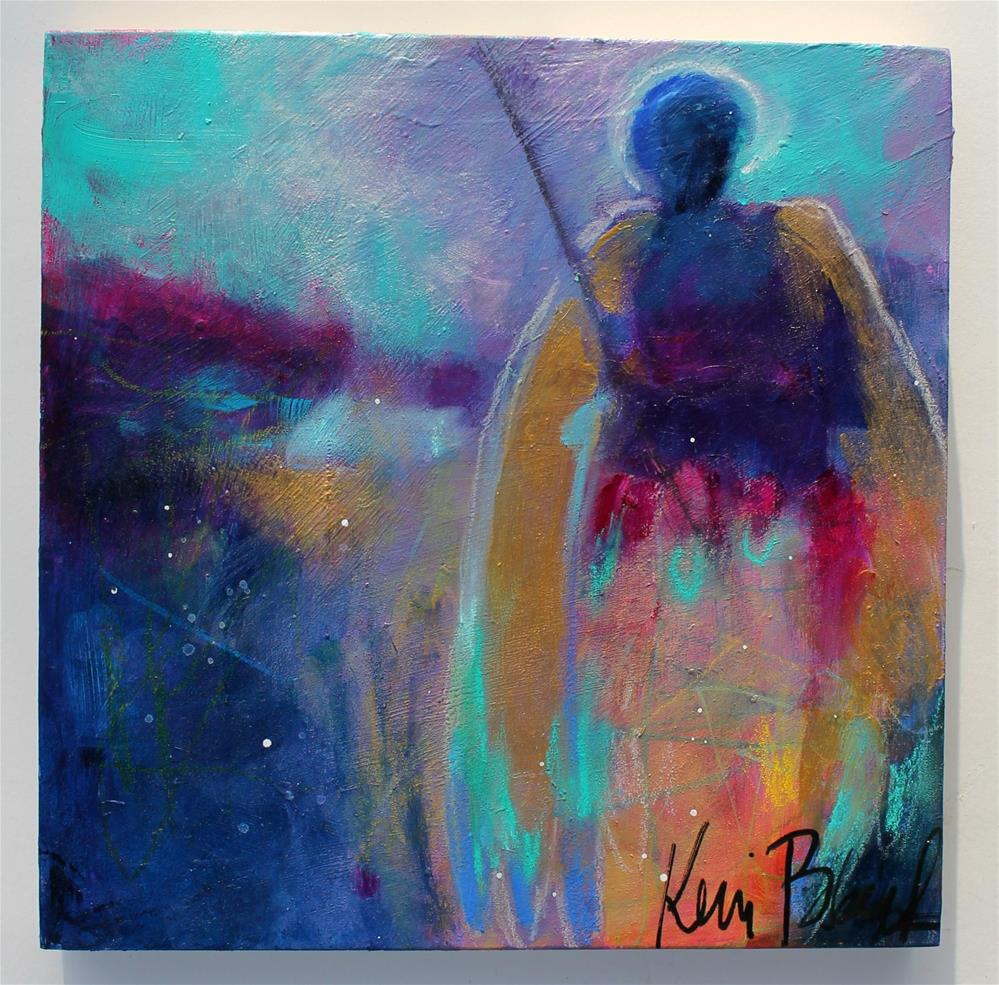 """The Wilds Need Angels Too"" original fine art by Kerri Blackman"