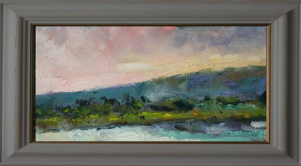 """The River Adur"" original fine art by Andre Pallat"