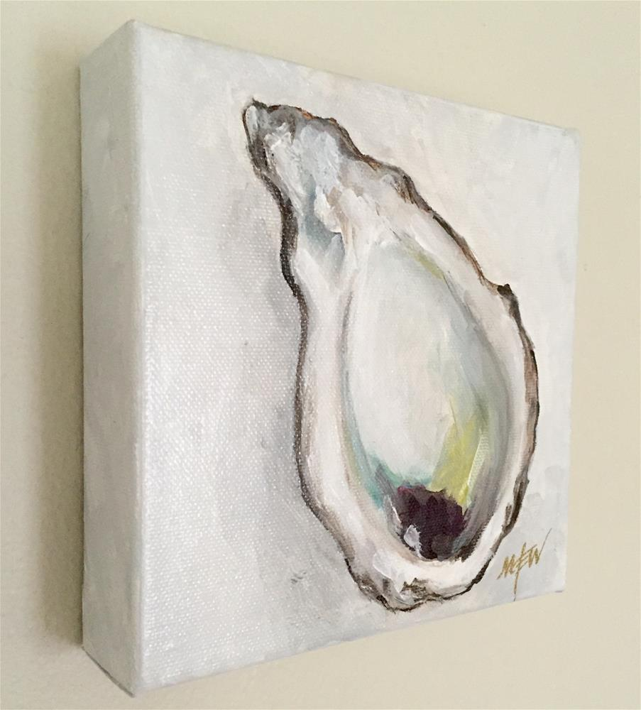 """Oyster lll"" original fine art by Makenzi Tew"