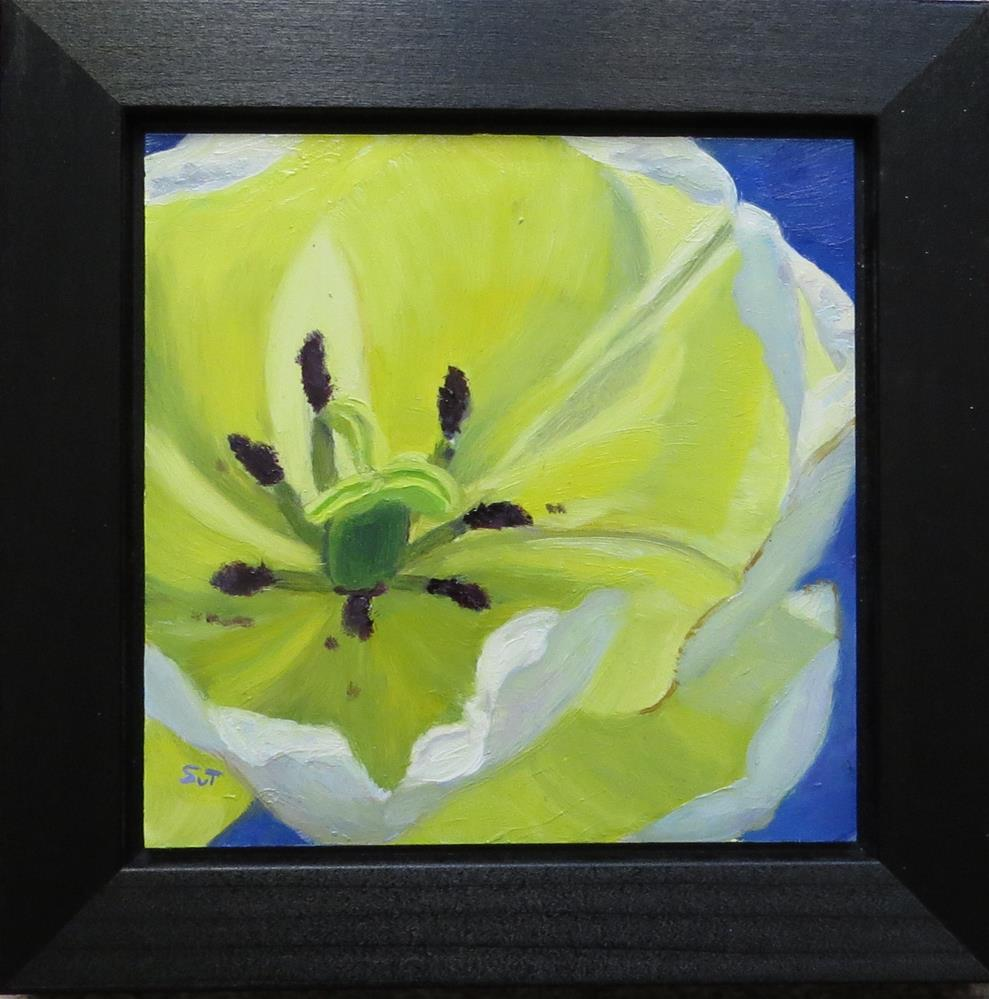 """Yellow glow"" original fine art by Sue van Tonningen"