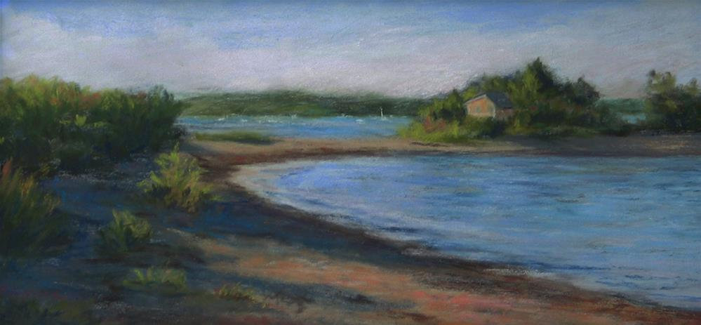 """Maine - Quiet Bay"" original fine art by Vikki Bouffard"