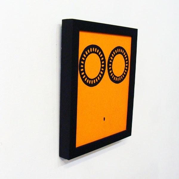 """""""Black Figure Dialpack Study VI"""" original fine art by Bonnie Fillenwarth"""