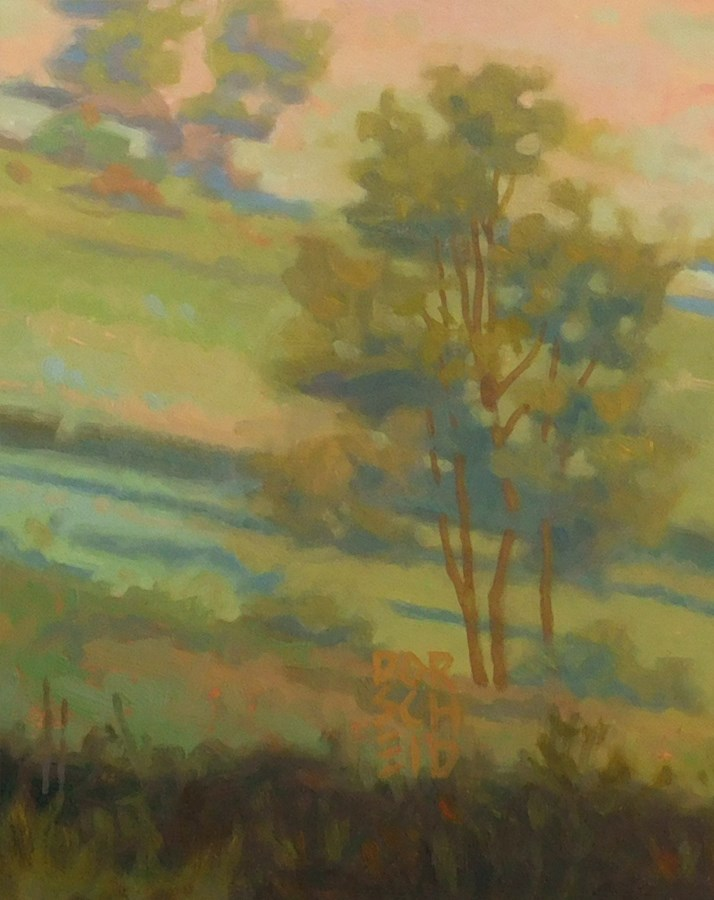 """Oak Savanna"" original fine art by Les Dorscheid"