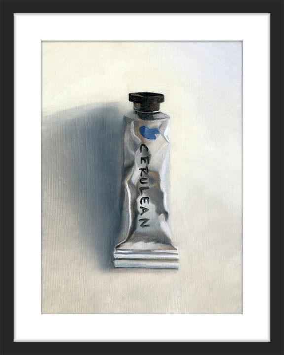 """Cerulean"" original fine art by Ester Wilson"