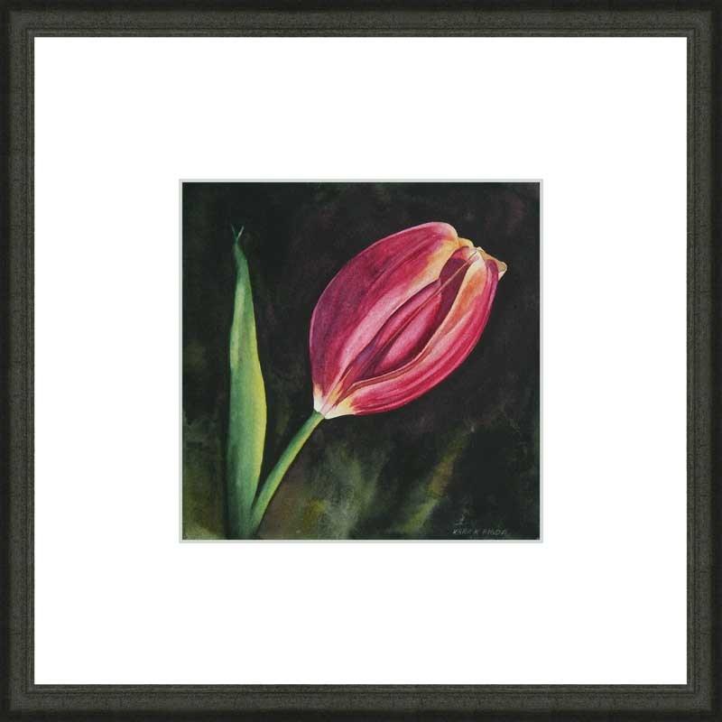 """Tulip"" original fine art by Kara K. Bigda"
