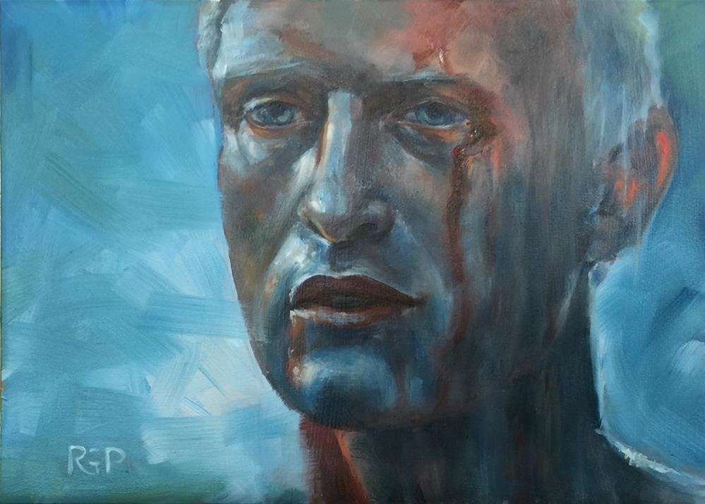 """Pris"" original fine art by Rhea  Groepper Pettit"