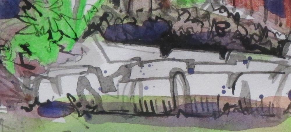 """Hay Bales Behind Barn by Larry Lerew 161002"" original fine art by Larry Lerew"
