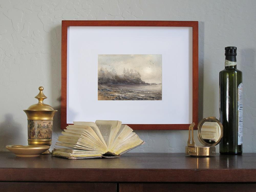 """Through the Mist"" original fine art by Linda Henry"