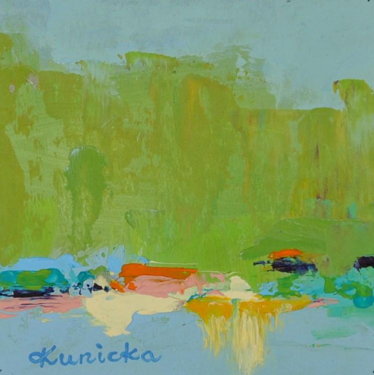 """Landscape 200a!!!"" original fine art by Ewa Kunicka"