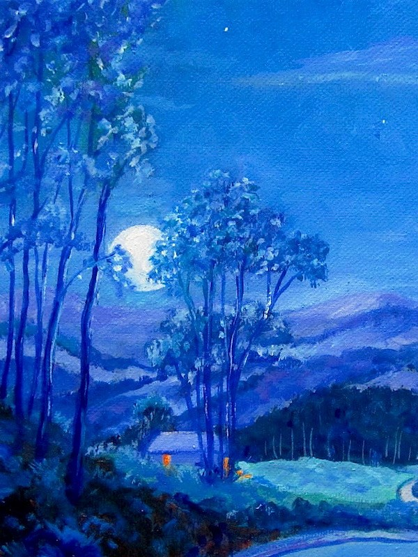 """The Road Home"" original fine art by Patricia Musgrave"