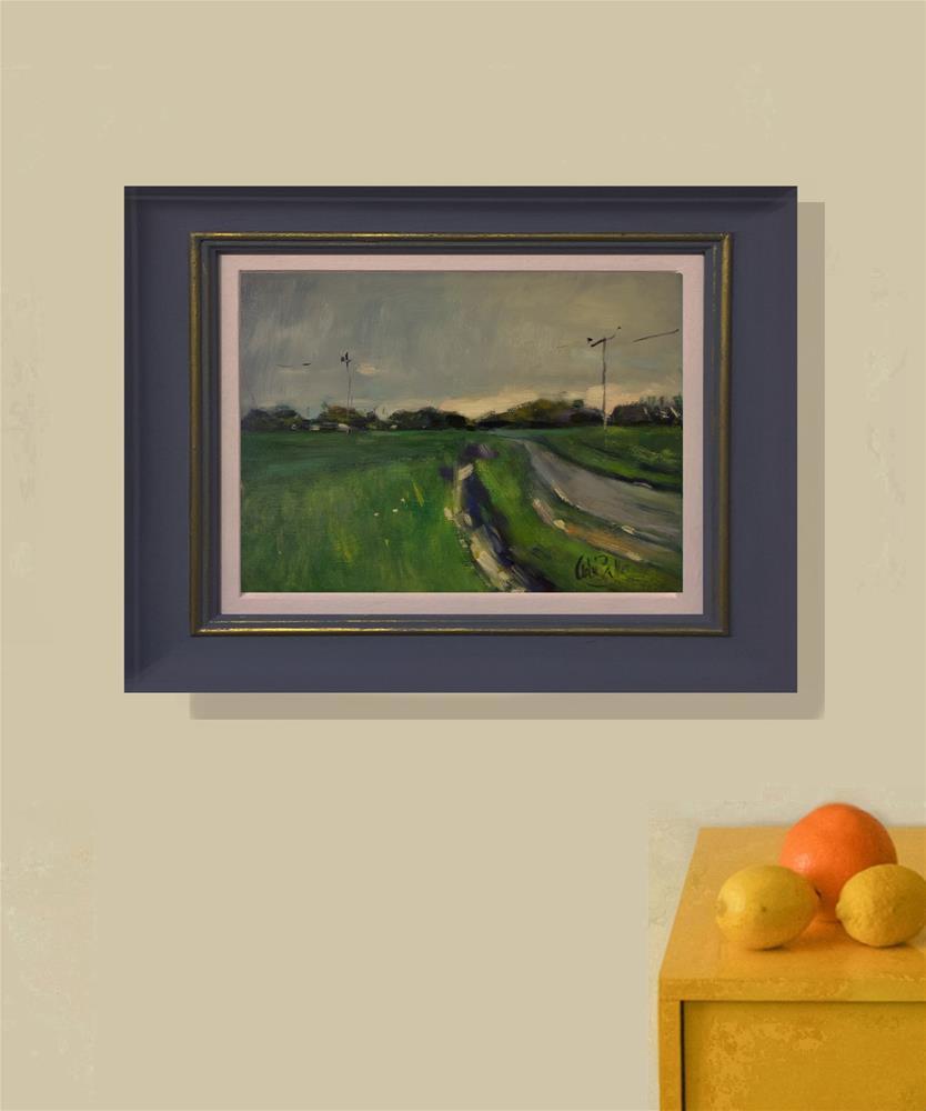 """Roadside Ditch"" original fine art by Andre Pallat"