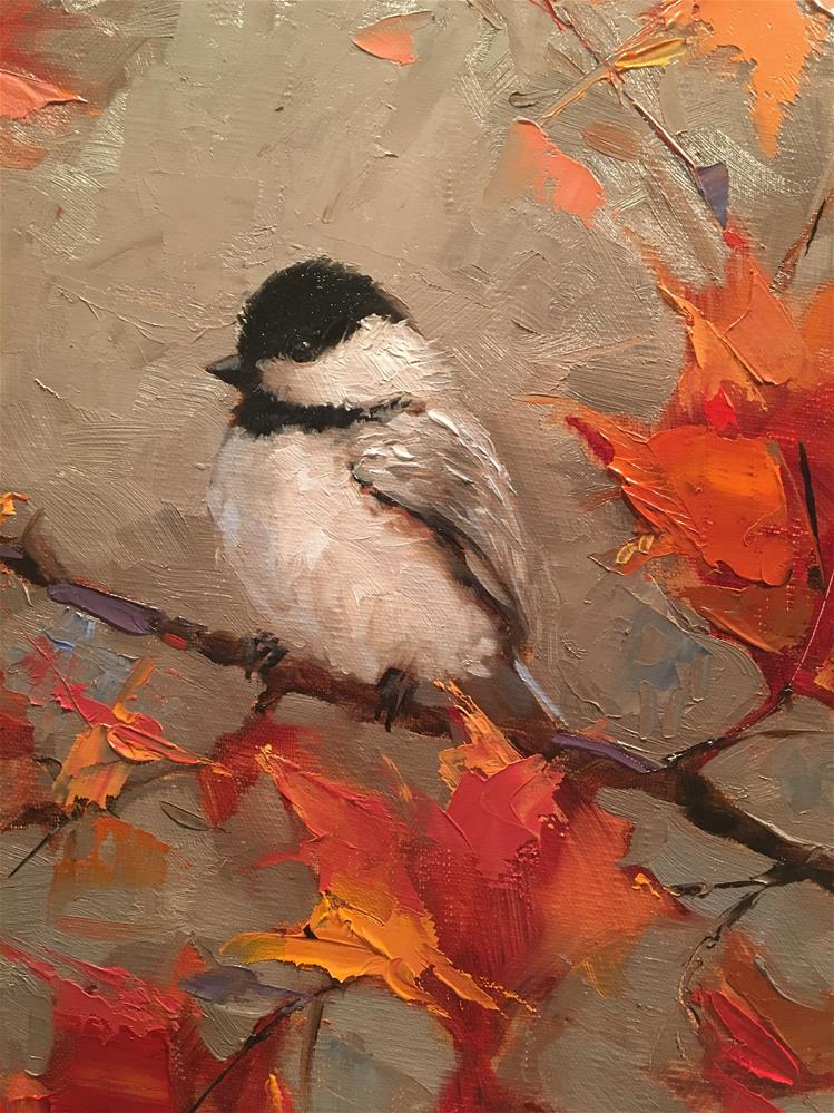 """Autumn Moment"" original fine art by Krista Eaton"