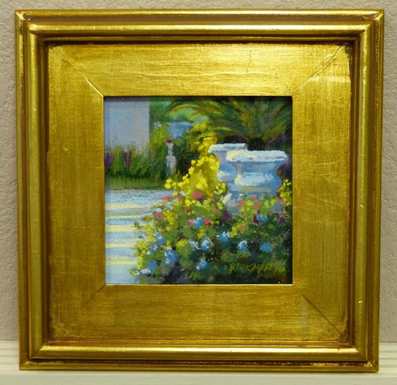 """Spring Garden"" original fine art by Rita Kirkman"