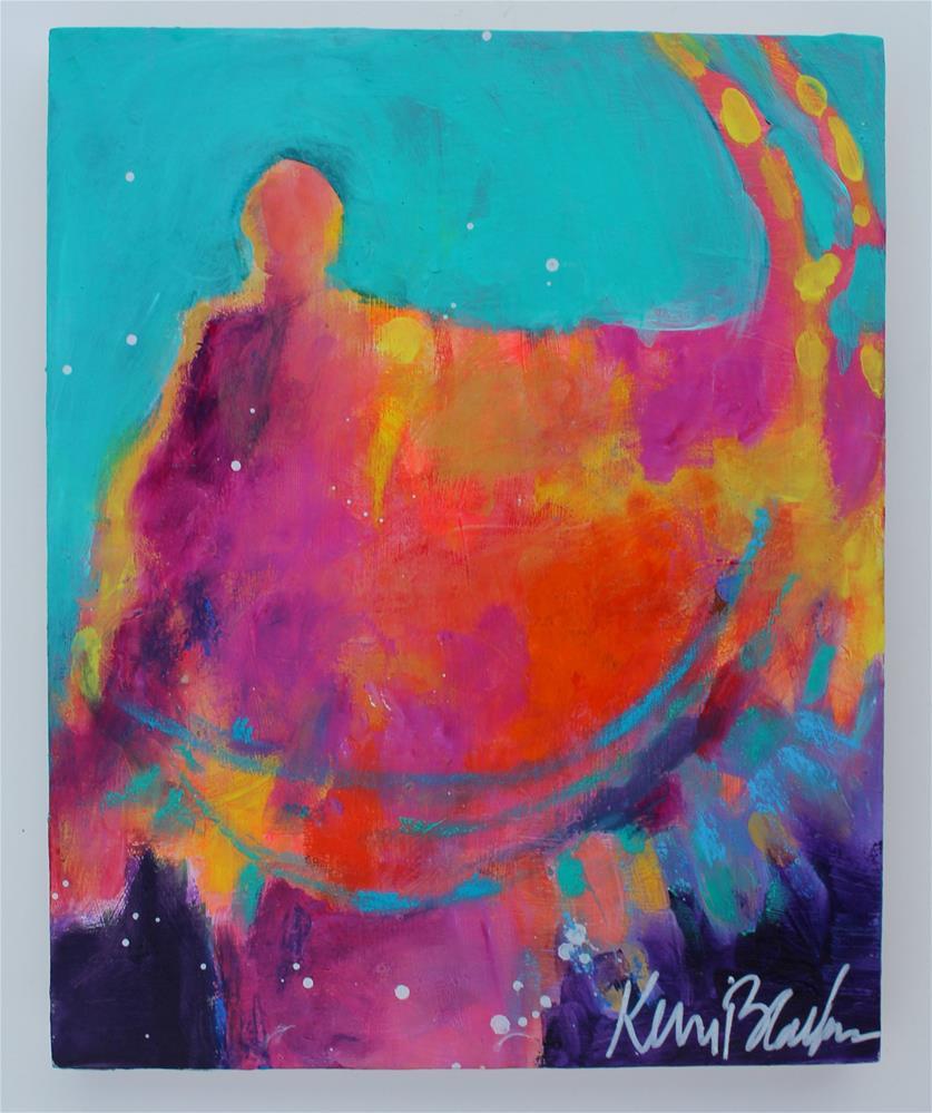 """Fire Bender "" original fine art by Kerri Blackman"