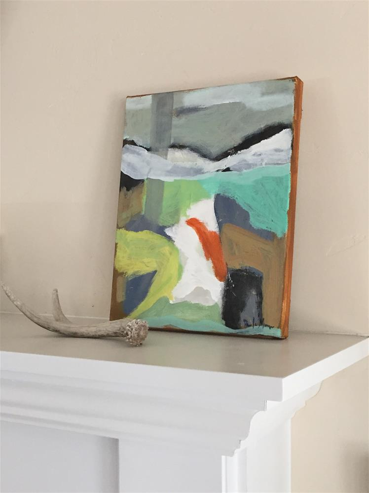 """abstract landscape"" original fine art by Pamela Munger"