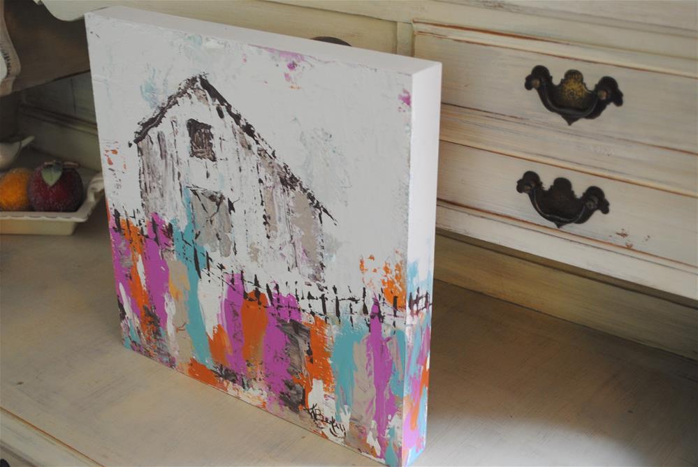 """Old Chippy Barn"" original fine art by Kelly Berkey"