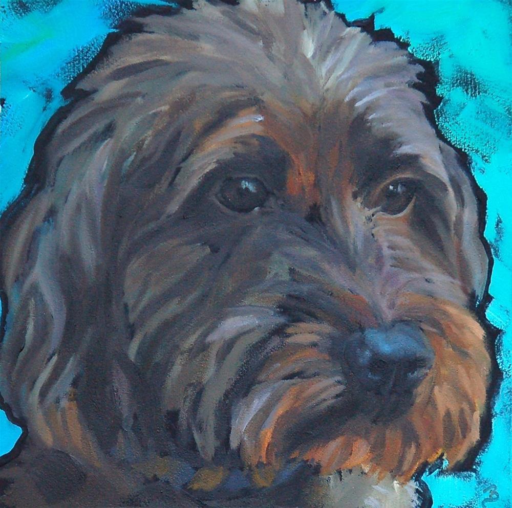 """Fraser"" original fine art by Philla Barkhorn"