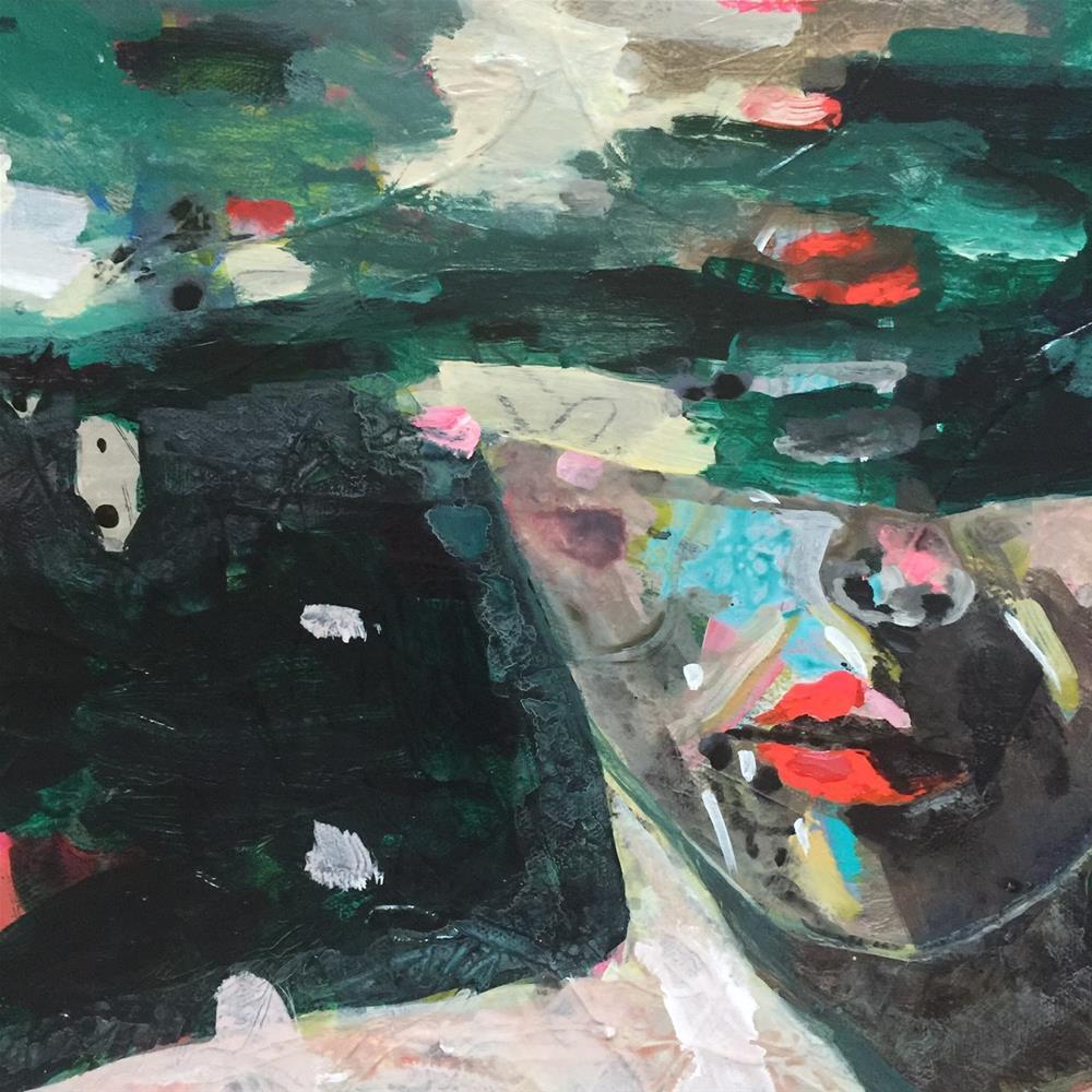 """""""169 Under Water"""" original fine art by Jenny Doh"""