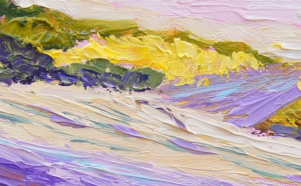 """""""Lavender and Yellow"""" original fine art by Marion Hedger"""