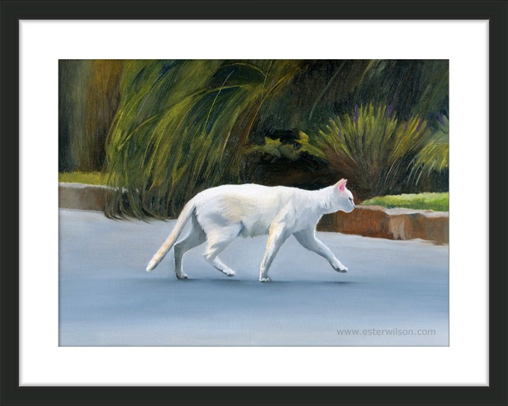 """On The Hunt"" original fine art by Ester Wilson"