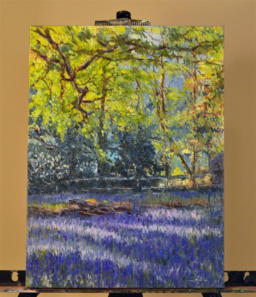"""wild lavender"" original fine art by Sun Sohovich"