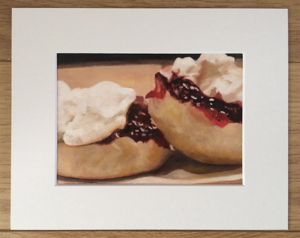 """Truly Scrumptious"" original fine art by John Cameron"