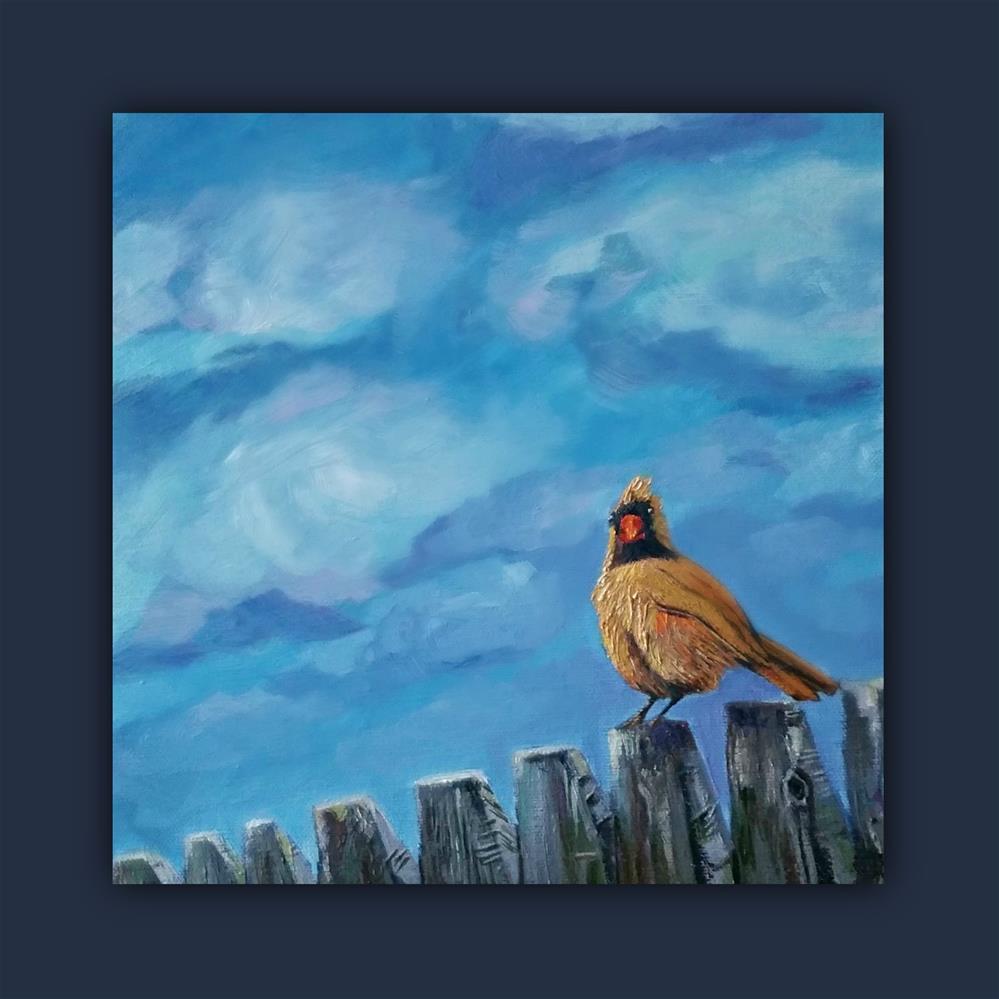 """Bird Watch"" original fine art by Dana C"