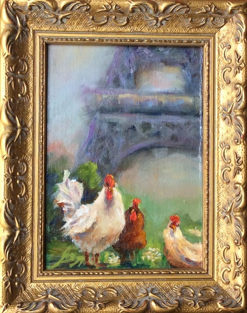 """My Paris Vacation"" original fine art by Susie Monzingo"
