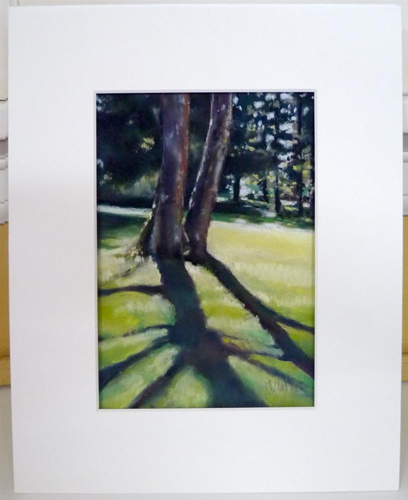 """Two Trees"" original fine art by Barbara Benedetti Newton"