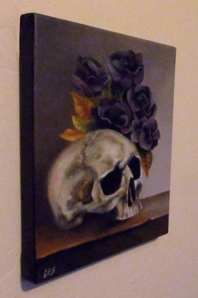 """Romantic Tragedy"" original fine art by ~ces~ Christine E. S. Code"
