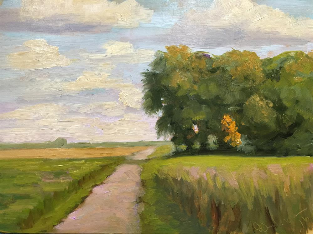 """""""Autumn is coming"""" original fine art by Judith Anderson"""