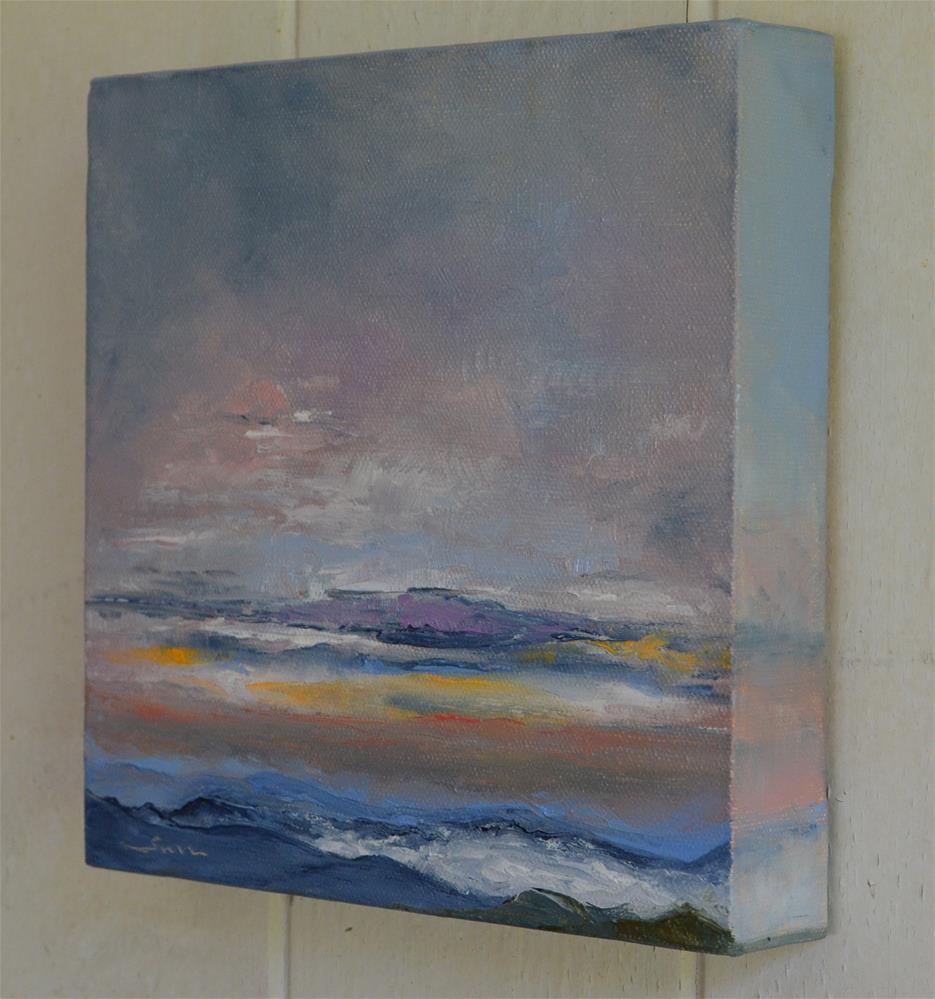 """Sun Rise on Blue Ridge Mountain 2"" original fine art by Sun Sohovich"