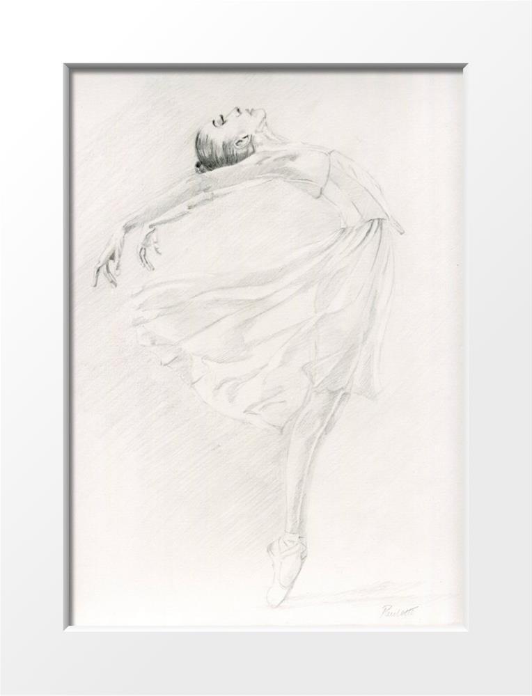 """Grace"" original fine art by Paulette Farrell"
