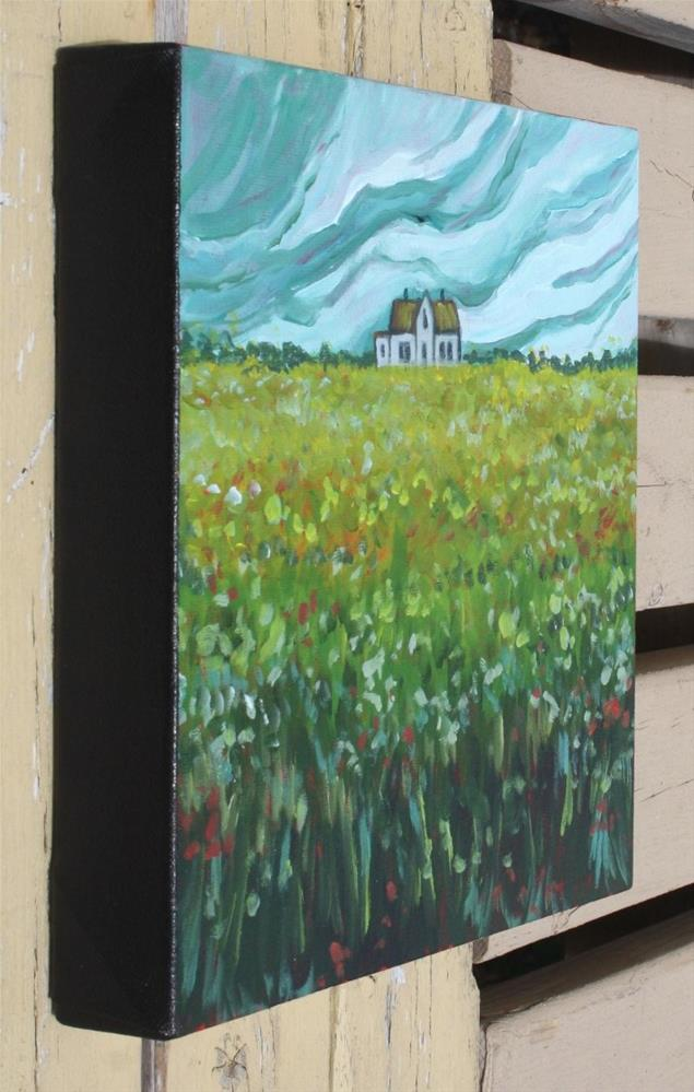 """Hill House"" original fine art by Sage Mountain"