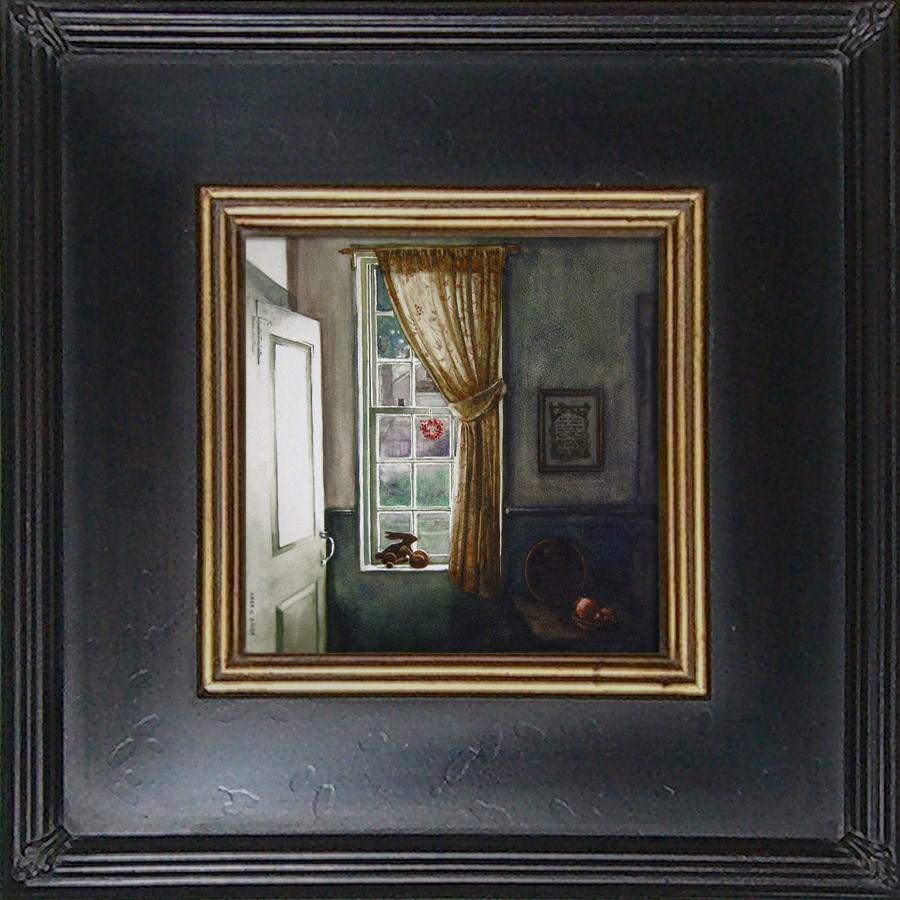 """American Interior"" original fine art by Kara K. Bigda"