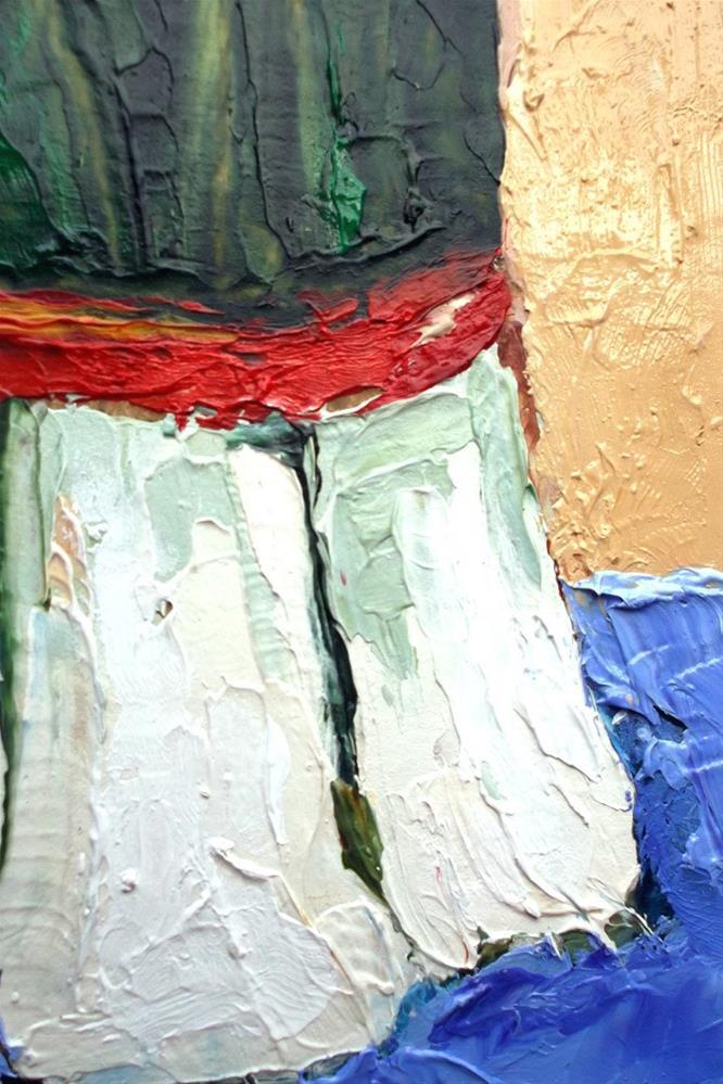 """""""Three Leeks"""" original fine art by lynne french"""