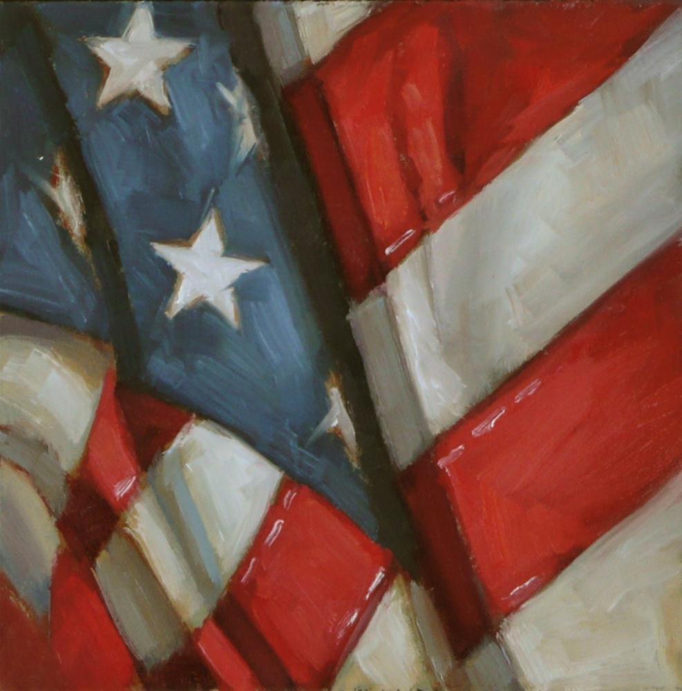 """Grand Old Flag"" original fine art by Dana Cooper"