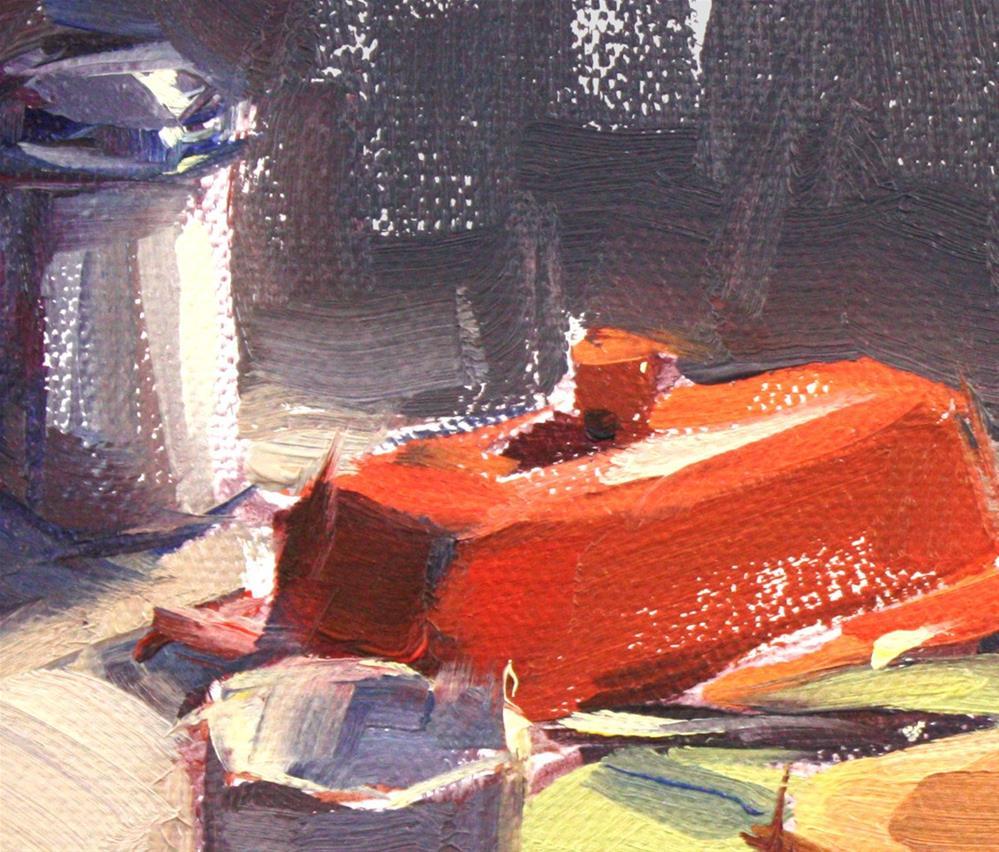 """Toast"" original fine art by Cathleen Rehfeld"