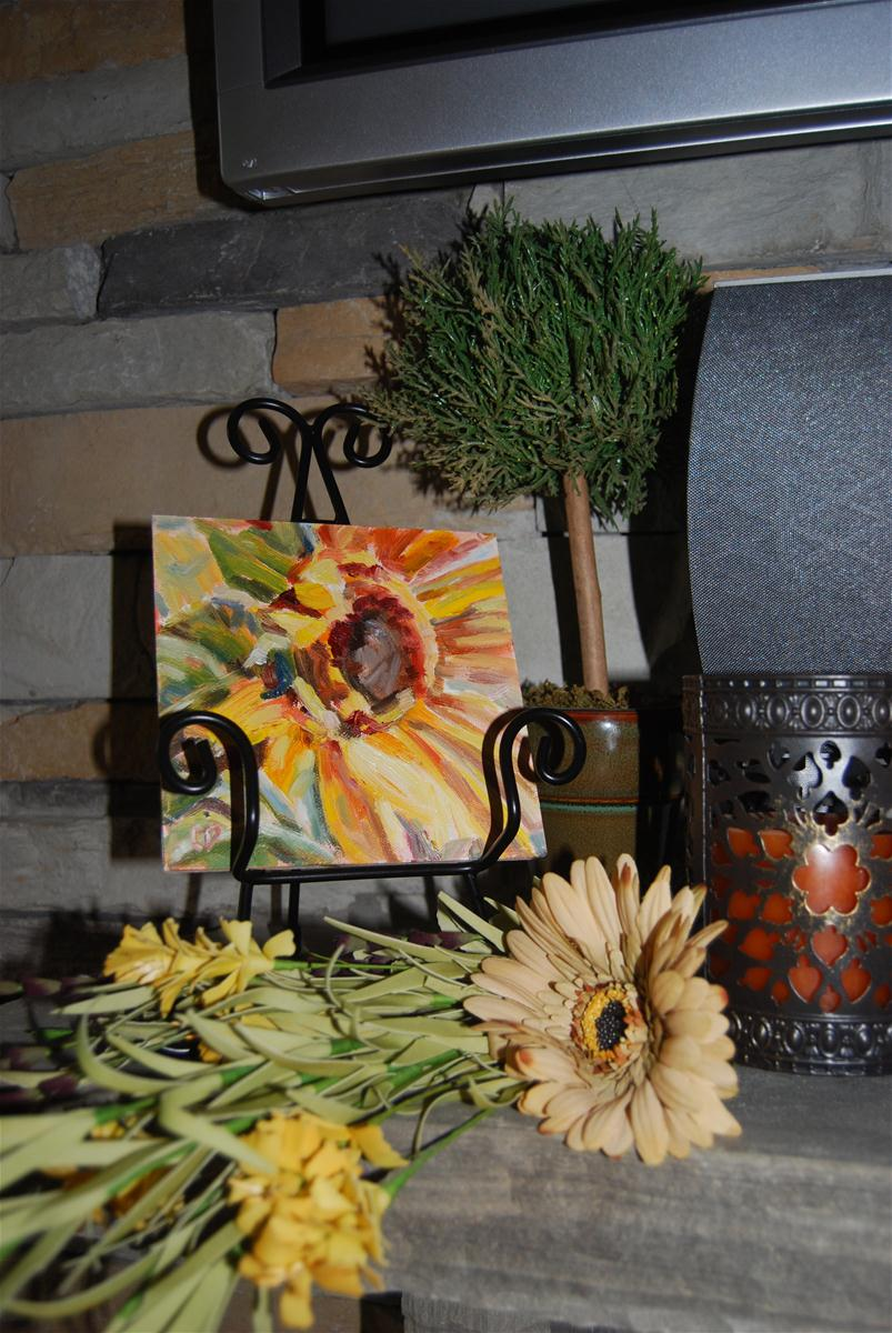 """Fall Welcome"" original fine art by Carol DeMumbrum"