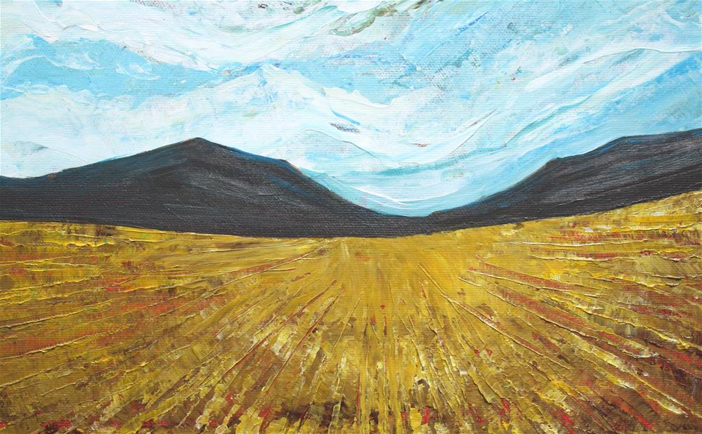 """Prairie Foothills"" original fine art by Sage Mountain"