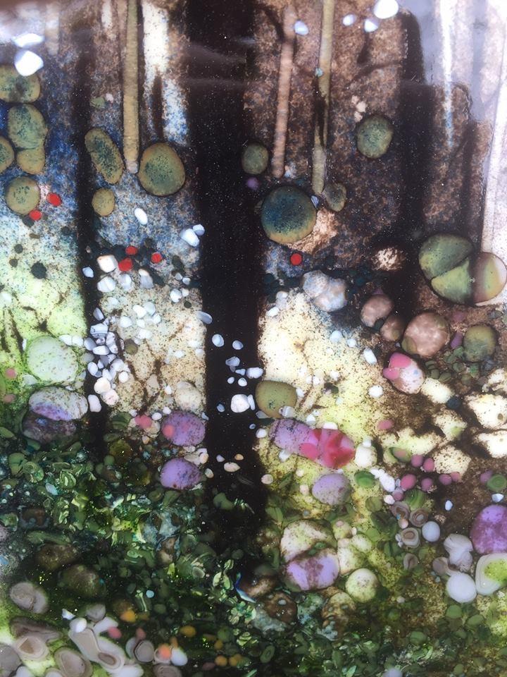 """Morning Light Forest Walk"" original fine art by Kelly Alge"