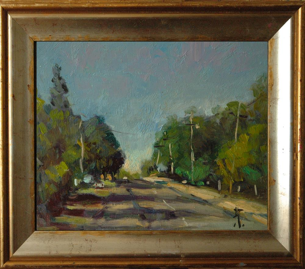 """Road in New South Wales"" original fine art by Andre Pallat"