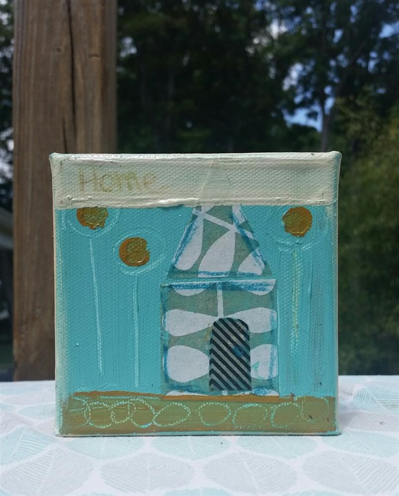 """House # 3"" original fine art by Christy Tremblay"